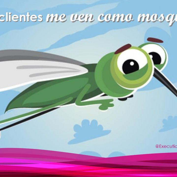 Mis prospectos me ven como mosquito