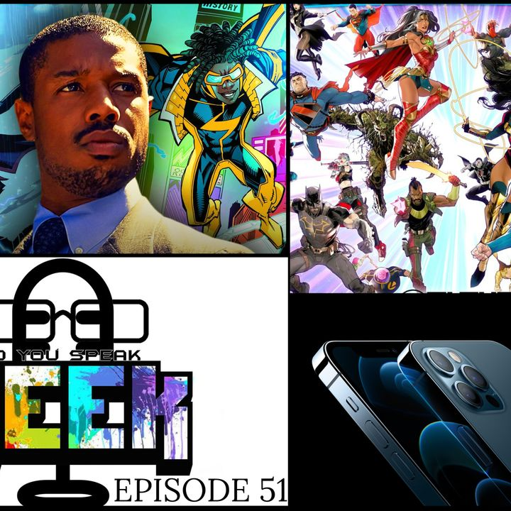 Episode 51 (DC Future State, Static Shock, iPhone 12, Marvel's Avenges and more)