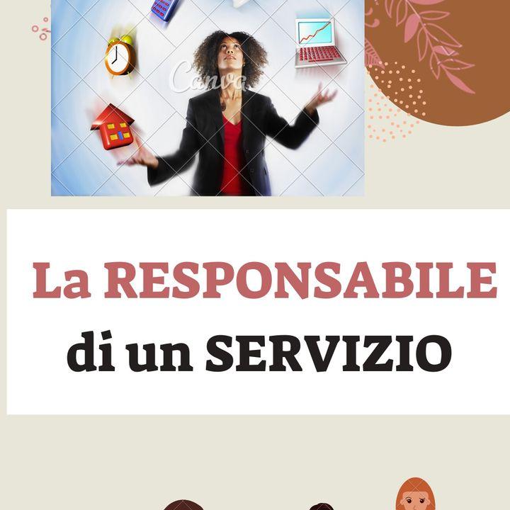 La RESPONSABILE di un servizio educativo