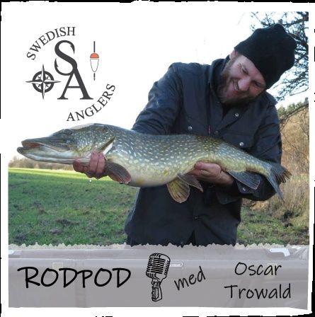 Swedish Anglers RodPod  Avsnitt 8 med Oscar Trowald