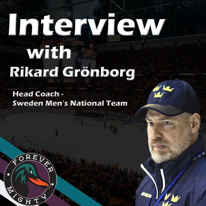 Interview w/ Rikard Grönborg - Head Coach Swedish Men's National Team