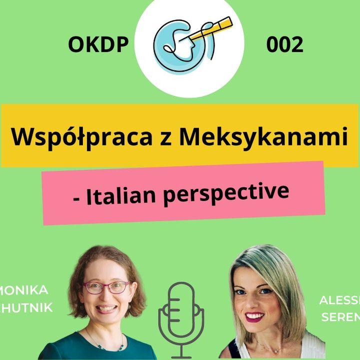 OKDP 002 Współpraca z Meksykanami – Italian perspective