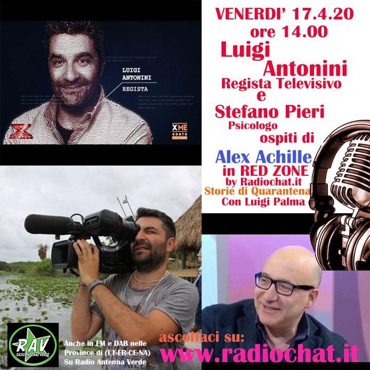 Luigi Antonini e Stefano Pieri ospiti di Alex Achille in RED ZONE by Radiochat.it