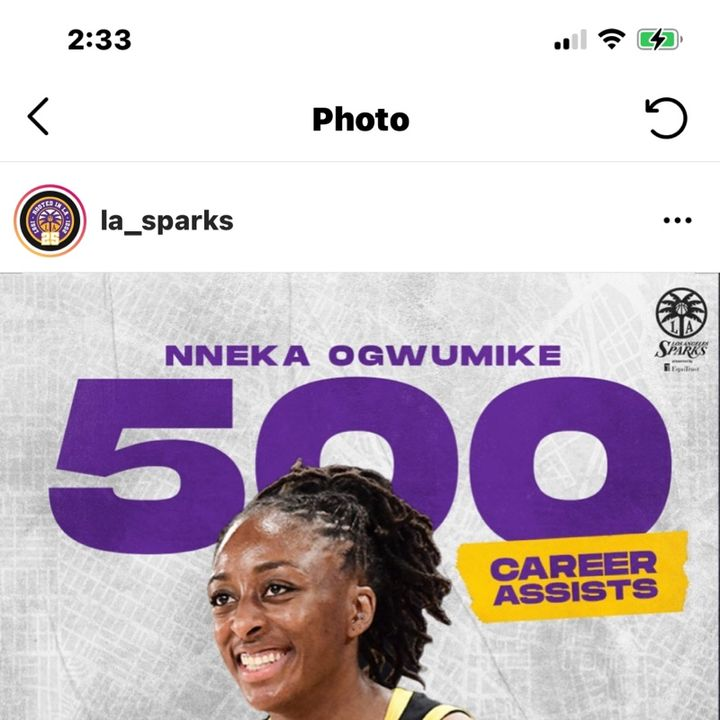 Nneka Ogwumike making history