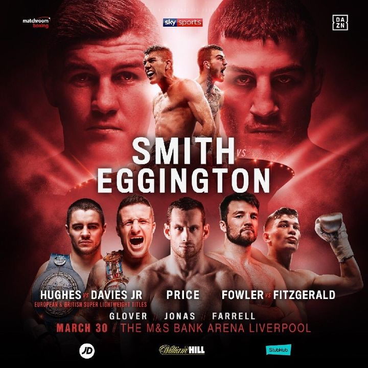 Preview Of The UK Boxing Card Plus A Stacked Undercard On Sky Sport's In Liverpool!!