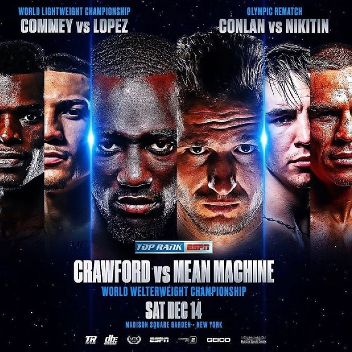 Preview Of The Huge TopRankOnEspn Card In MSG Headlined By Terrence Crawford-Egidijus Kavaliauskas For The WBO Welterweight Title+Great Card