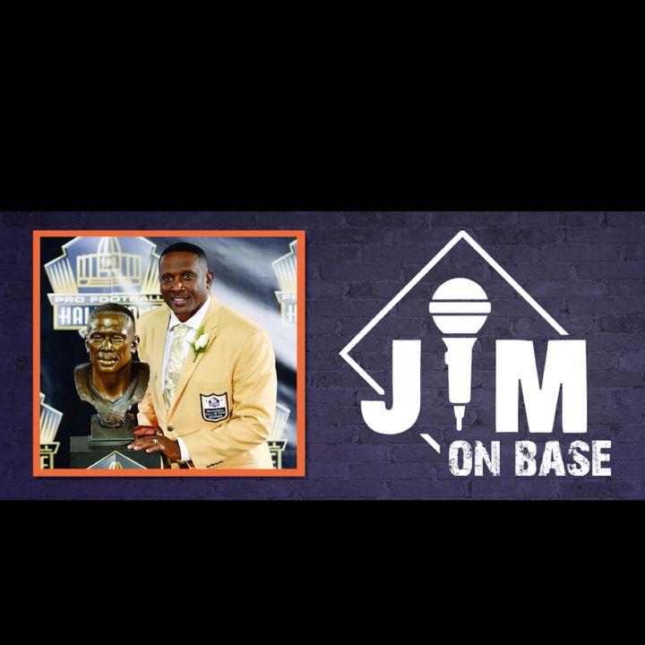 Hall of Fame NFL Wide Receiver Tim Brown
