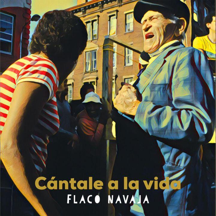 "Actor, Poet, and Salsa Superstar Flaco Navaja talks his new single ""Cantale A La Vida""."