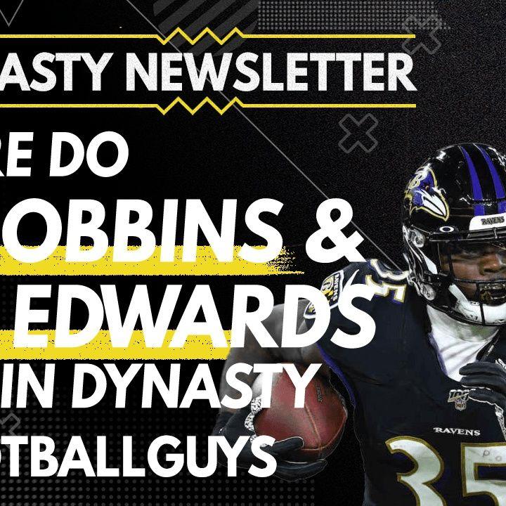 Where do JK Dobbins and Gus Edwards rank in Dynasty? - Dynasty Fantasy Football 2021