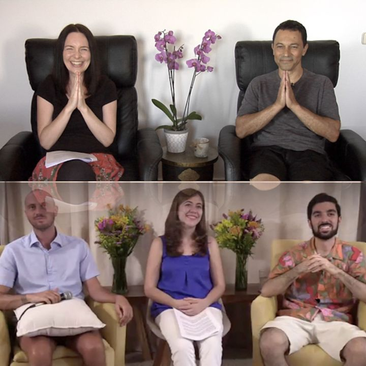 """""""Awake in the Miracle"""" Online Retreat: Closing Session with Emily, Michael, Ken, Ana, and Andy"""