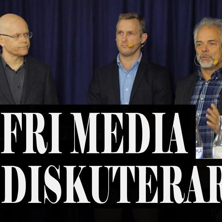 Alternativmedia paneldiskussion | Willgert, Nilsson, Matikainen m.fl.