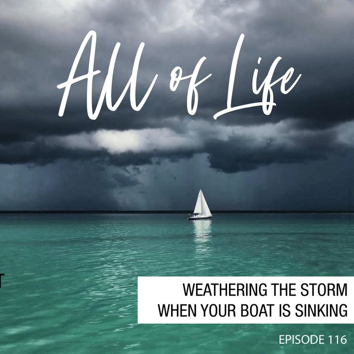 Weathering the Storm When Your Boat is Sinking