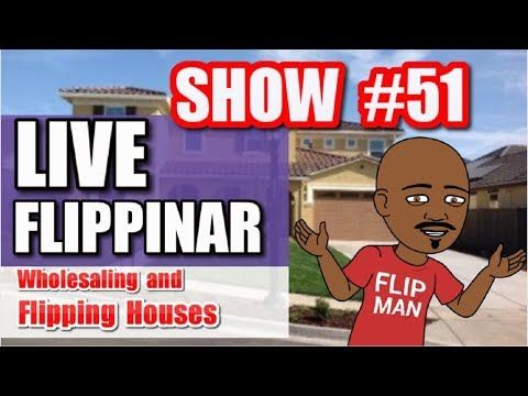 Flipping Houses   Live Show #51 Flippinar: House Flipping With No Cash or Credit 04-26-18