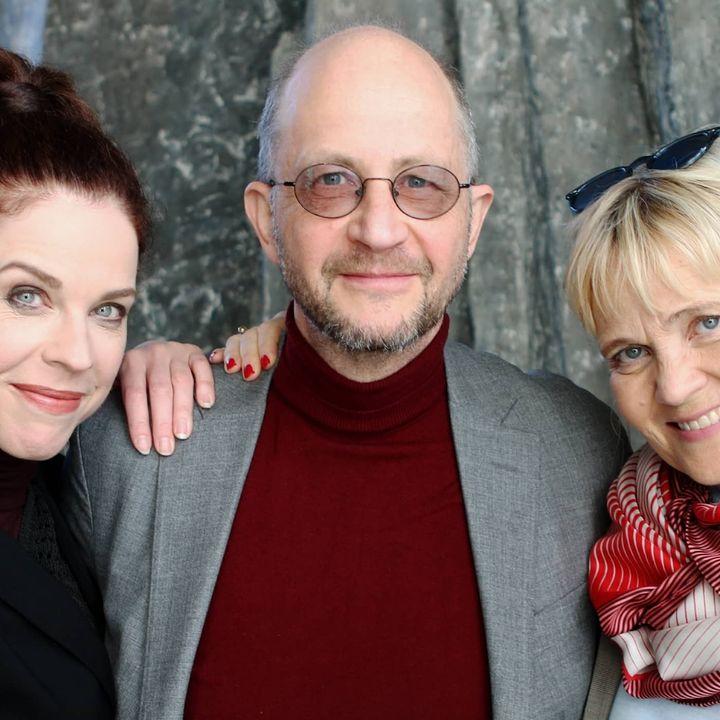 Jessika Gedin, Per Naroskin och Gabriella Ahlström
