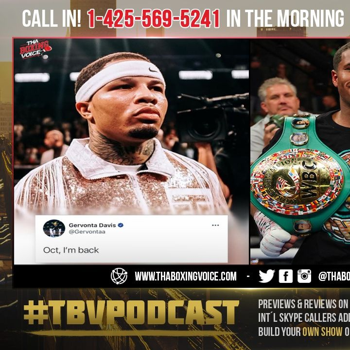 ☎️Gervonta Davis Showtime PPV Generates 200K+ Buys🔥Tank vs Haney In Atlanta Is There a Bigger Event❓