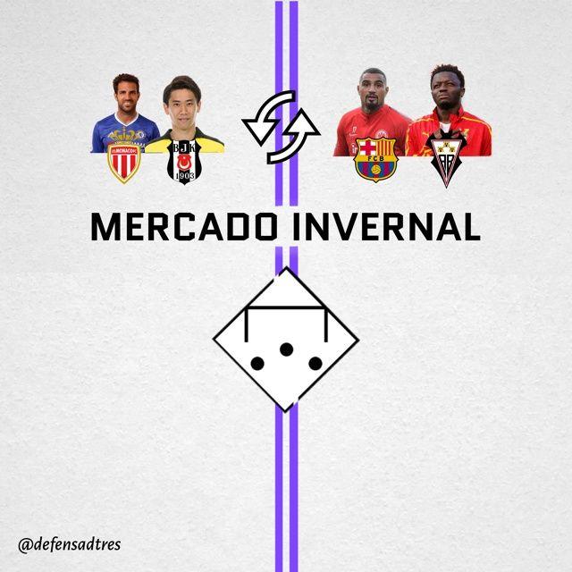 MERCADO INVERNAL - Defensa de Tres 10x01