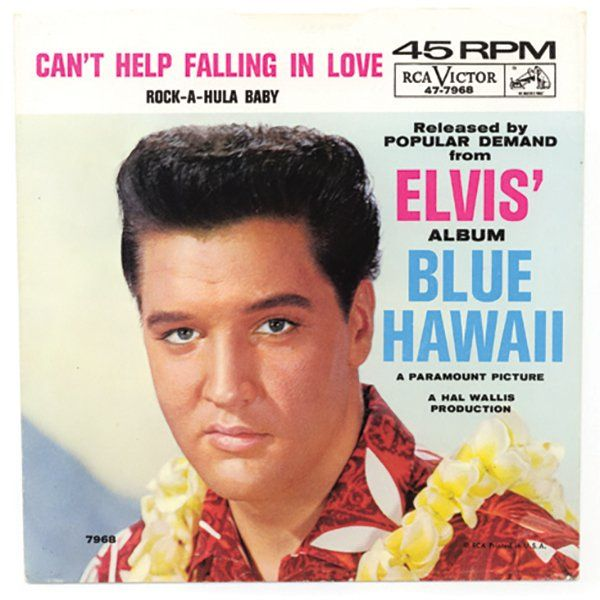 "💜 ""Can't help falling in love"" de Elvis - Una canción de amor europea."
