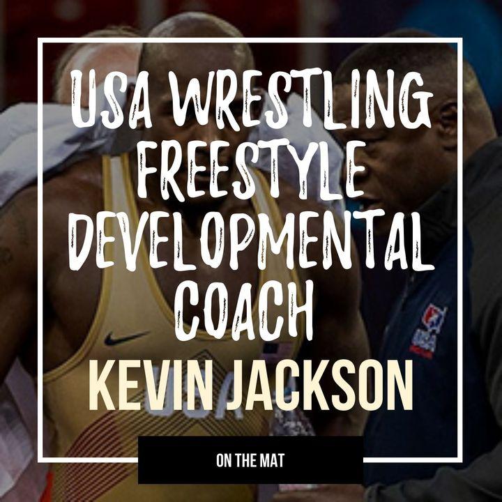 World & Olympic champion Kevin Jackson of USA Wrestling - OTM562
