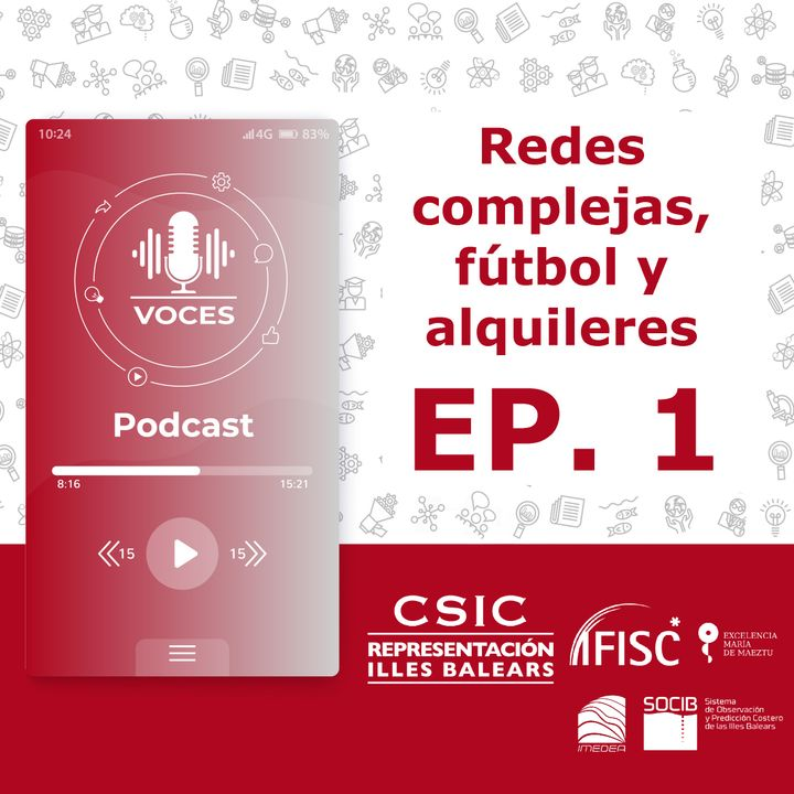 Redes complejas, fútbol y alquileres   Voces, CSIC Balears #01