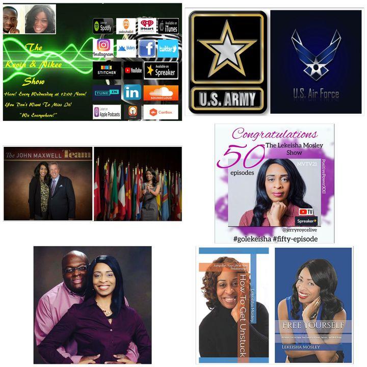 The Kevin & Nikee Show  - Lekeisha Mosley - Radio & TV Host, Author, Speaker, Teacher, Life Coach and Mental Illness Advocate