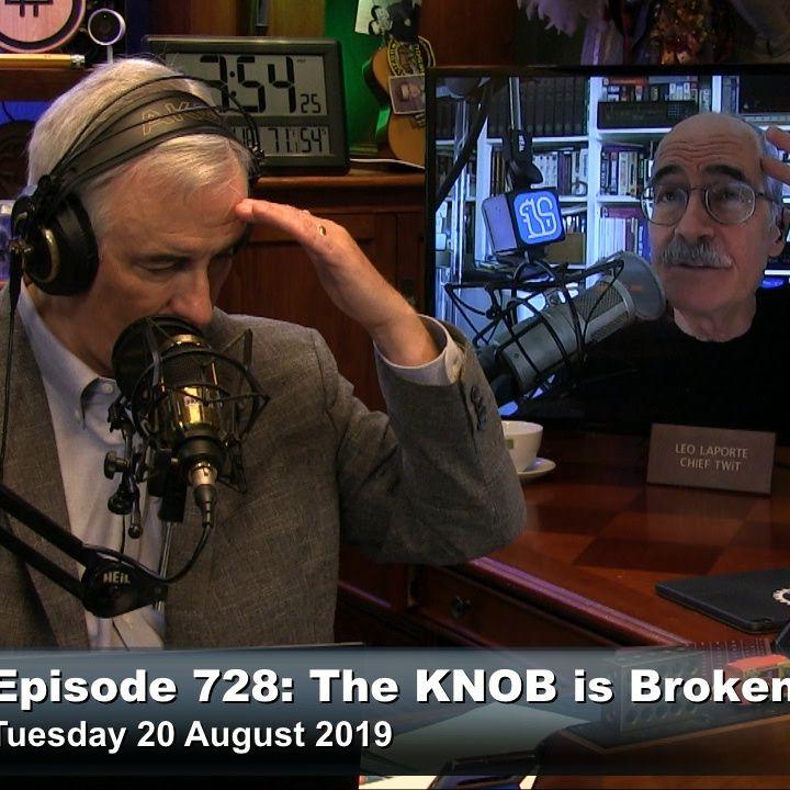 Security Now 728: The KNOB is Broken