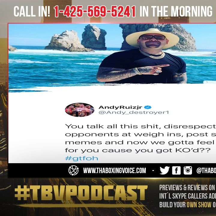 ☎️Andy Ruiz Jr SHOTS🔥FIRED I Was So Happy😁Dillian Whyte Got Knocked The F*** Out😱