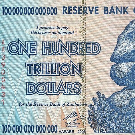 #5 Una banconota da cento miliardi