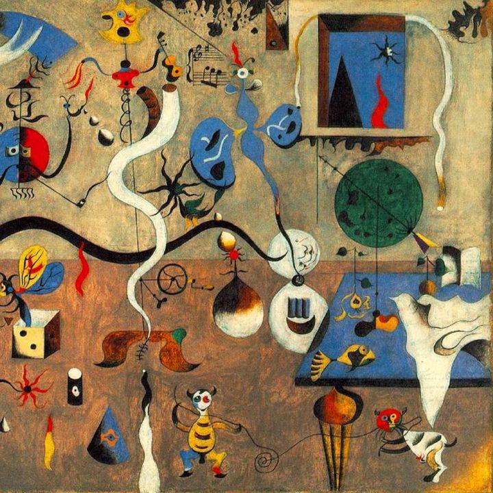 #9 Joan Miró - L'artista che passeggiava nel giardino dei sogni