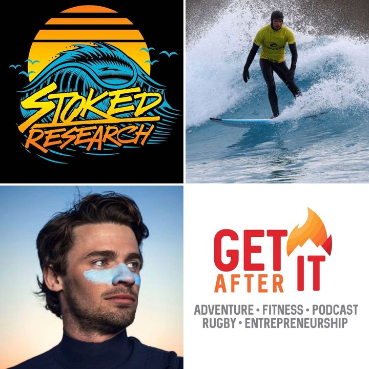 Episode 94 - with Jamie Marshall - Surfer, researcher and founder of Stoked Research.