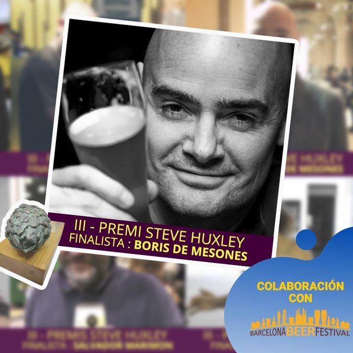 III Edición del premio STEVE HUXLEY conoce mejor al finalista BORIS de MESONES
