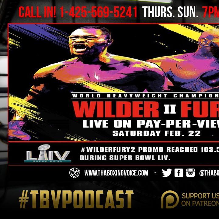 ☎️Wilder vs Fury Super Bowl Promo Reaches 103.5 Million Viewers😱Haney Vs Broner Yes Please🙏🏽