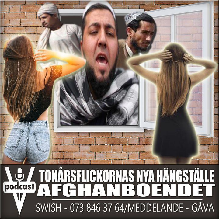 TONÅRSFLICKORNAS NYA HÄNGSTÄLLE - AFGHANBOENDET