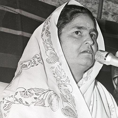 Chennai, TN, March 11, 1981: Discourse by Nirankari Rajmata Ji
