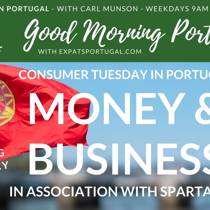 Discussing democracy on 'Consumer Tuesday' on The Good Morning Portugal! Show with Spartan FX