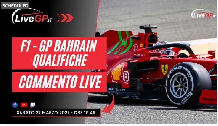 F1 | GP Bahrain 2021 - Commento Live Qualifiche