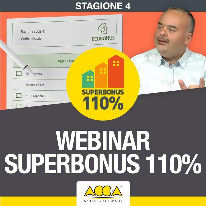 Webinar Superbonus 110% | Stagione 4