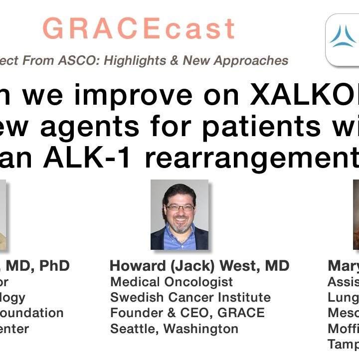 Can we improve on XALKORI? New agents for patients with an ALK-1 rearrangement