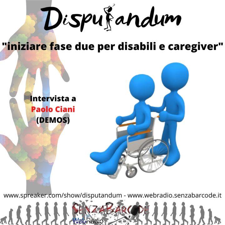 Coronavirus Paolo Ciani Demos, iniziare fase due per disabili e caregiver