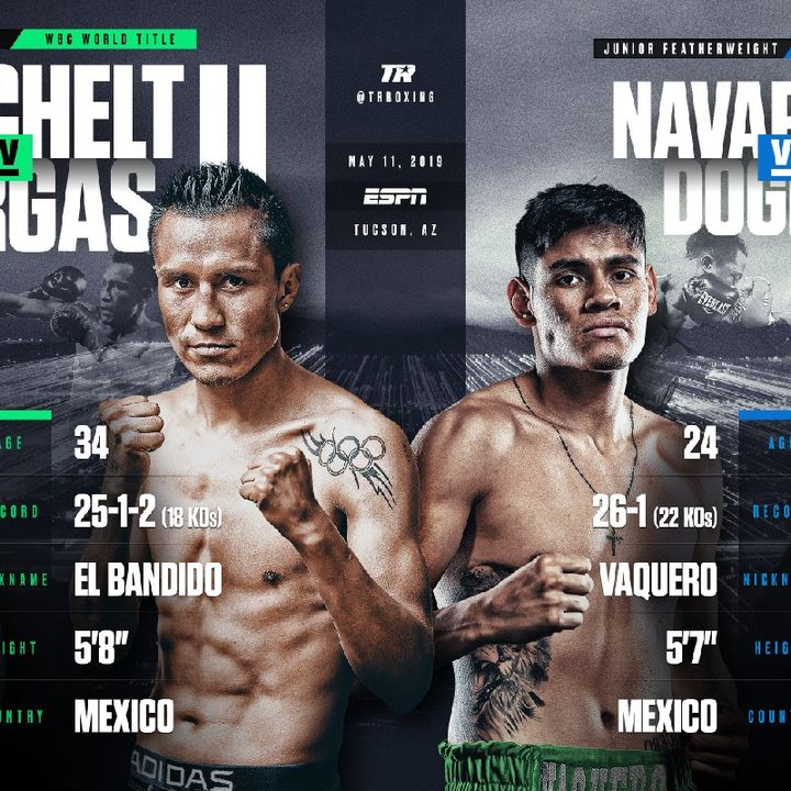 Preview Of The TopRank On ESPN Card Headlined By Miguel Berchelt-Francisco Vargas+Emmanuel Navarrete-Isaac Dogboe World Titlefight's!!
