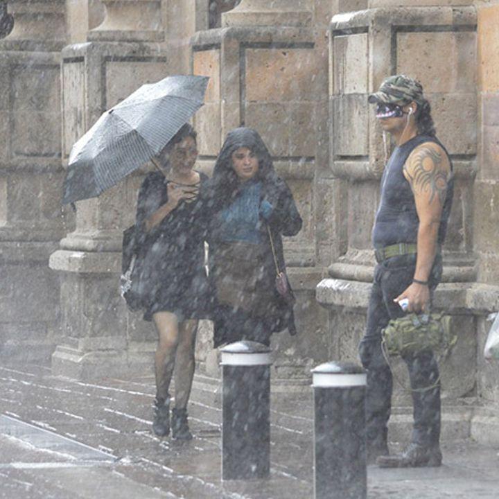 Intensas lluvias por el paso del ciclón tropical Cristina