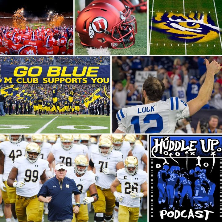 Huddle Up Pod - Farewell Capt Andrew Luck