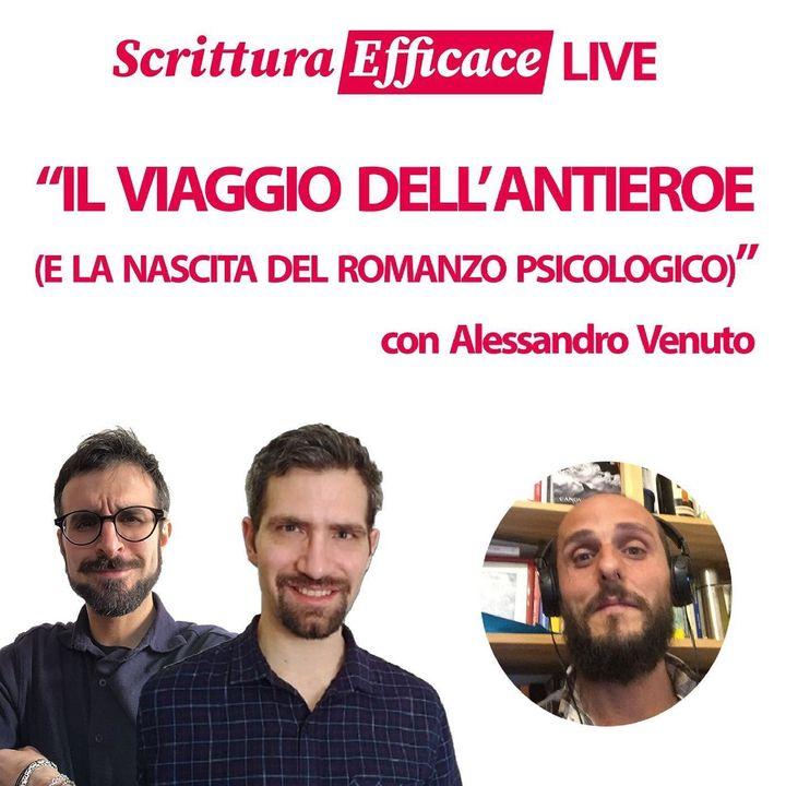 Il viaggio dell'antieroe (e la nascita del romanzo psicologico), con Alessandro Venuto
