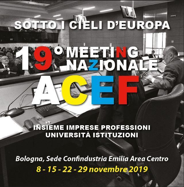 "19° Meeting ACEF ""Sotto i cieli d'Europa"""