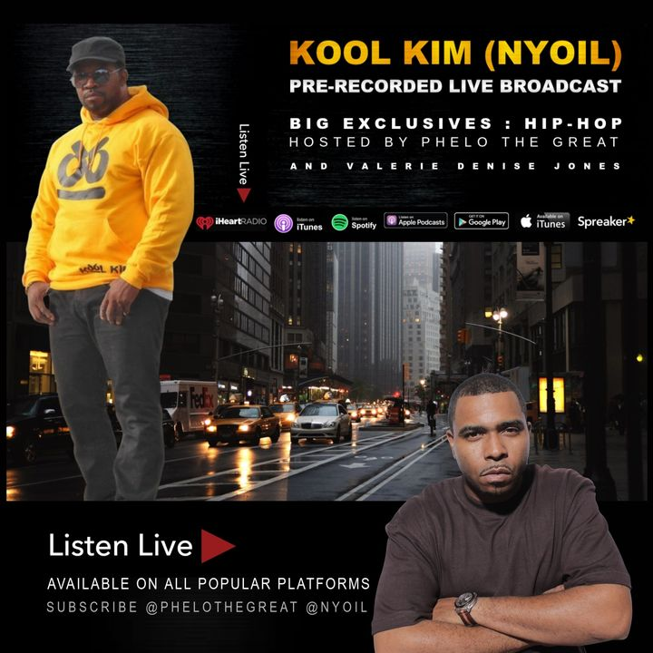 KOOL KIM (NYOIL) Live on BE, Hosted by PHELO THE GREAT