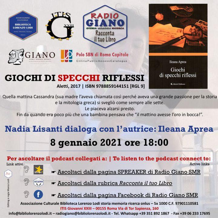 L'ACBLL presenta : Nadia Lisanti dialoga con Ileana Aprea | Giochi di specchi riflessi