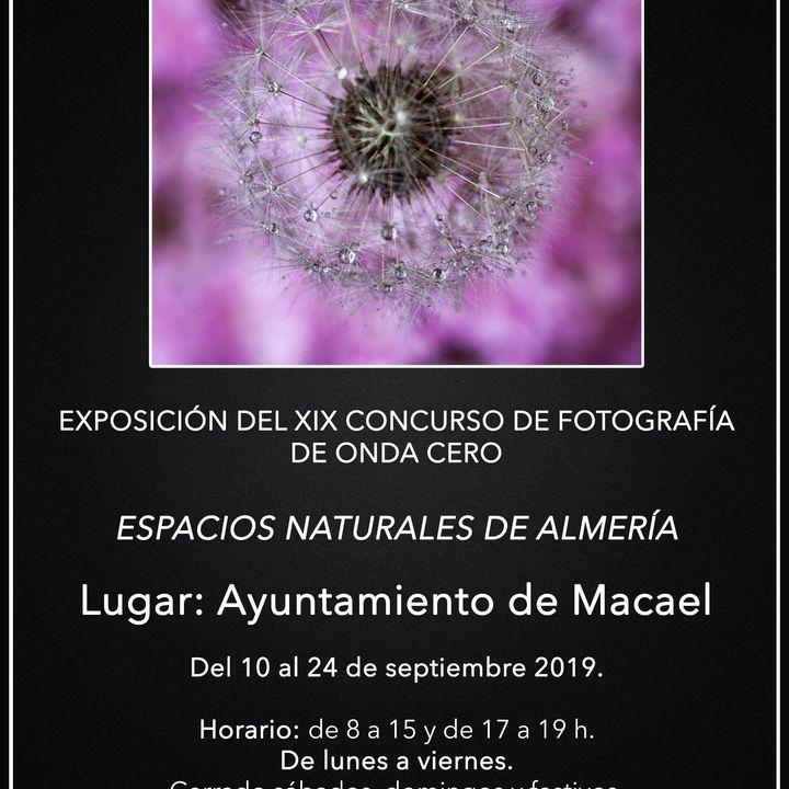EXPO FOTOS ESPACIOS NATURALES ALMERIA
