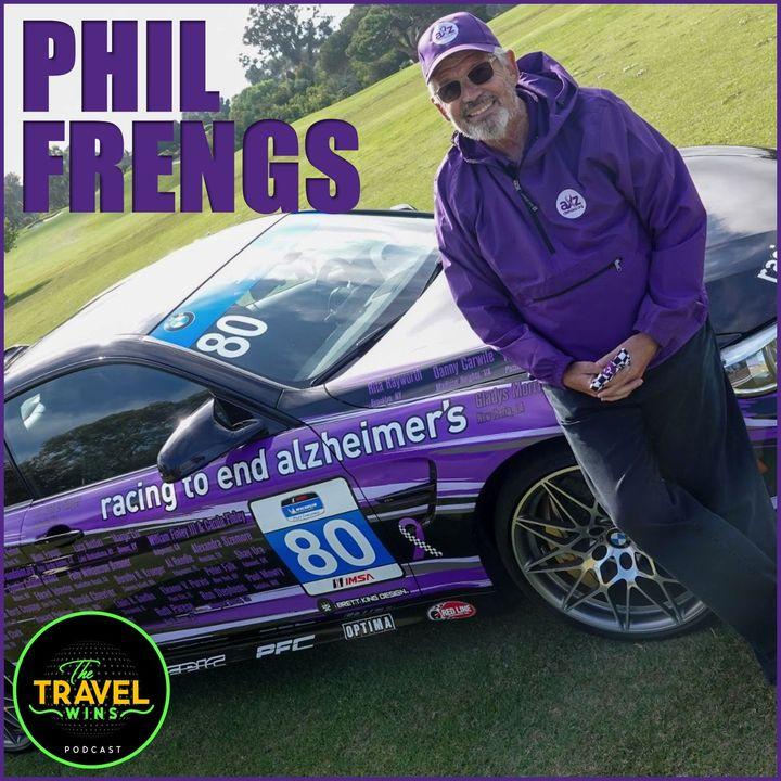 Phil Freng racing 2 end alzheimers