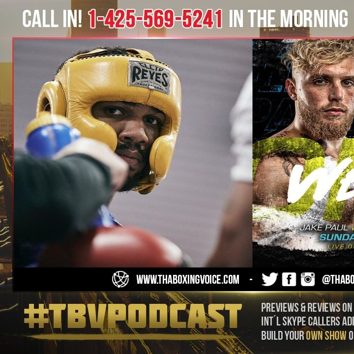 ☎️Anthony Joshua Slimming Down For Usyk Fight🧐Jake Paul vs. Tyron Woodley Fight Week🔥