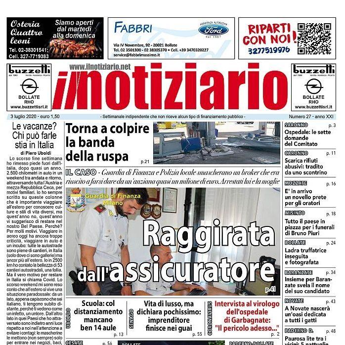 Prima pagina - Il notiziario settimanale