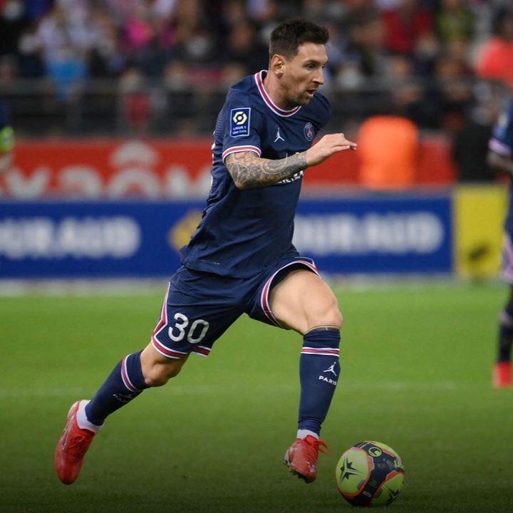 Messi debutó en Francia 31 Agosto